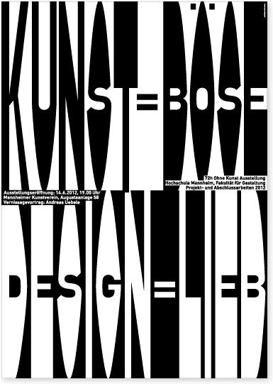 b ro uebele kunst b se design lieb plakat anl sslich. Black Bedroom Furniture Sets. Home Design Ideas