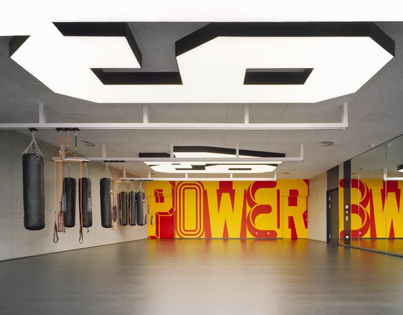 bro uebele adidas gym spatial and interior design herzogenaurach